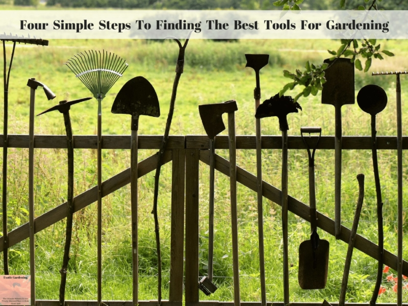Four Simple Steps To Finding The Best Tools For Gardening